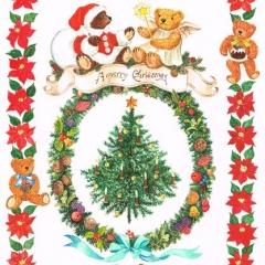 ポインセチアのクリスマス