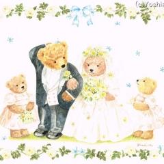くまの結婚式
